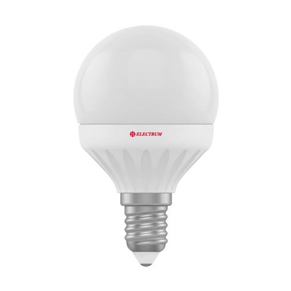 0748-A-LB LED лампа ELM D45 6W E14 2700K шар