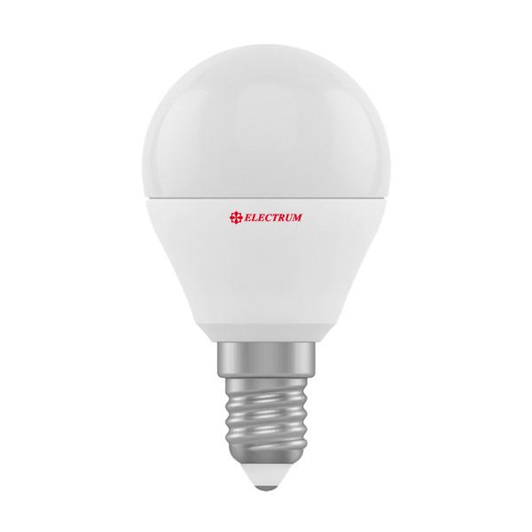 1008-A-LB LED лампа ELM D45 6W Е14 3000K шар