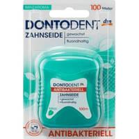 Dontodent Зубная нить антибактериальная,Zahnseide antibakteriell100 м.
