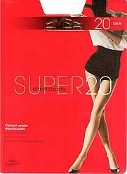 Колготки OMSA super 20  2 (S), BIANCO (белый), 20