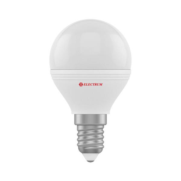 1405-A-LB LED лампа ELM D45 6W Е14 3000K шар