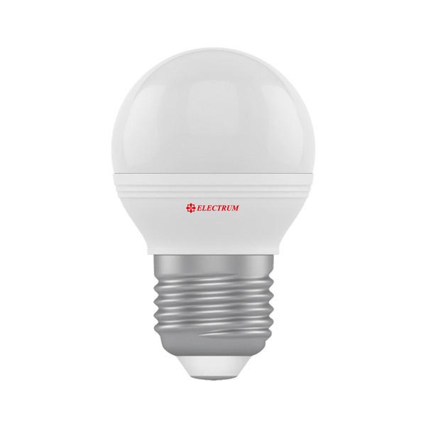 1408-A-LB LED лампа ELM D45 6W Е27 4000K шар