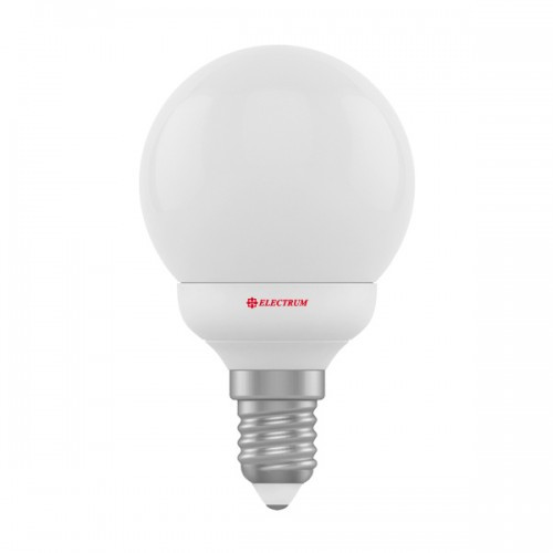 1807-A-LB LED лампа ELM D45 4W Е14 2700K шар