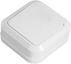 41-0001 Выключатель накладной одноклавишный SD-10 Simply ELM