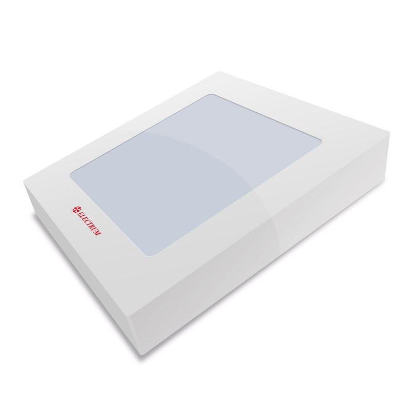 B-LD-0743 LED Светильник ELM накладной квадрат LIDO 12W 4000K