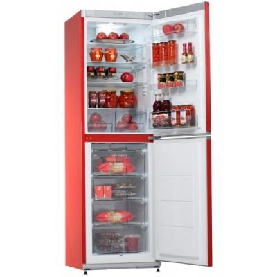 Холодильник СНАЙГЕ RF 35 SM-S1RA21 червоний