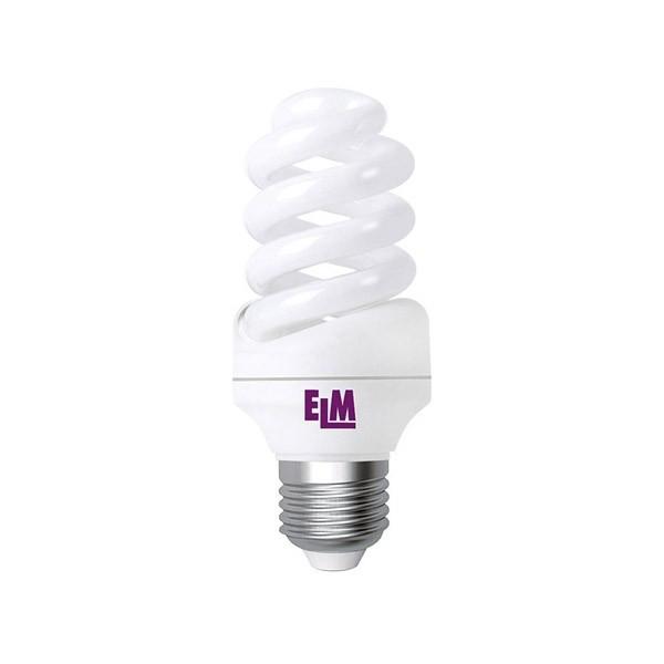 17-0085 Лампа енергозберігаюча ELM 15W E27 2700K F-SPIRAL