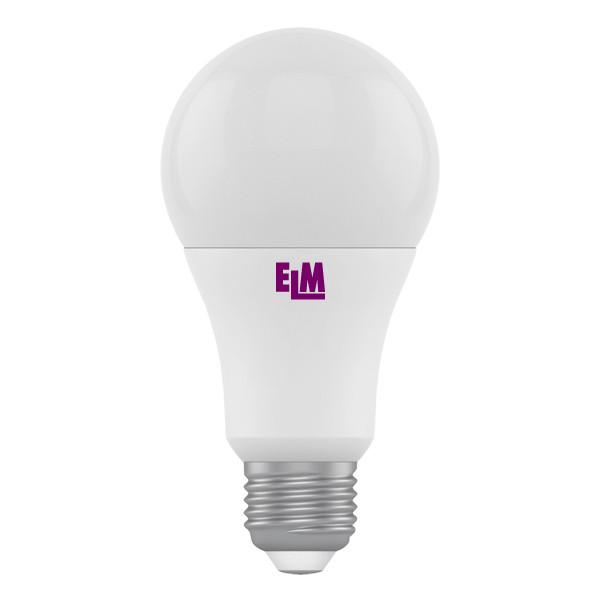 18-0007 LED лампа ELM A60 10W E27 4000K