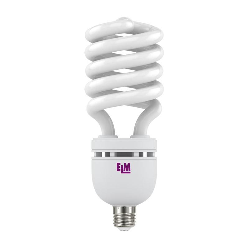 17-0129 Лампа энергосберегающая ELM 55W E27 4000K H-SPIRAL