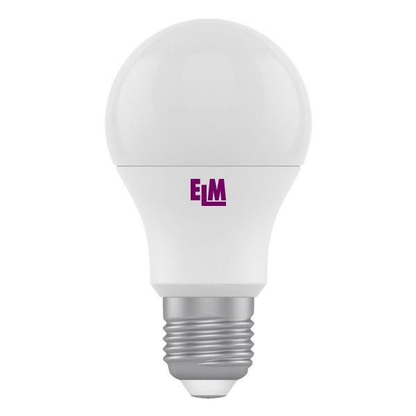18-0024 LED лампа ELM A60 8W E27 4000K - ЭЛЕКТРОПАРК в Днепре