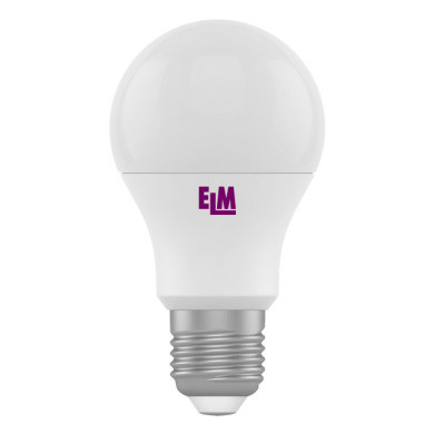 18-0061 LED лампа ELM A60 10W E27 4000K