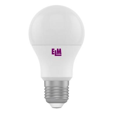 18-0062 LED лампа ELM A60 12W E27 3000K`
