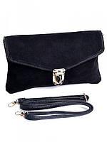 Клатч женский кожаный 9686 Black
