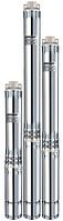 Погружной глубинный (скважинный) насос «Насосы плюс оборудование» 100SWS2–55–0,45 + соединительная муфта