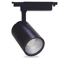Трековый  LED светильник Feron AL103 30W (Черный)
