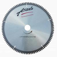 Пильный диск по алюминию 250*100*30 стандарт и (с отрицательным углом наклона)