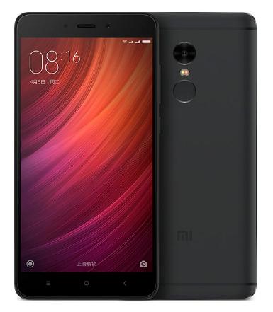 "Смартфон Xiaomi Redmi Note 4 3/32Gb Black, 8 ядер, 13/5Мп, 5.5"" IPS, 2 SIM, 4G, 4100мА"