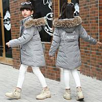 Зимний пуховик на девочку