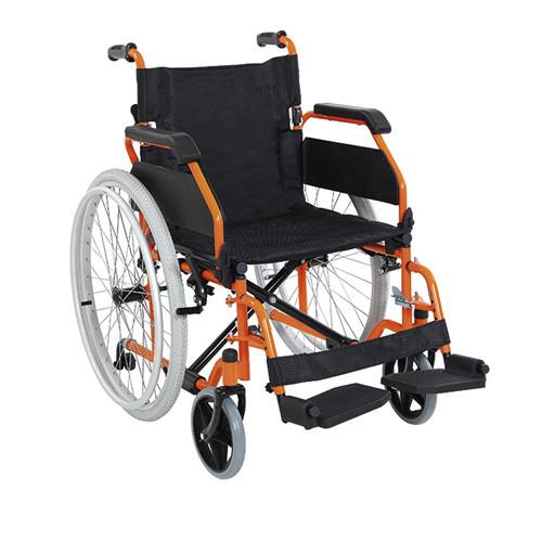 Инвалидная коляска металлическаяHeaco Golfi-19