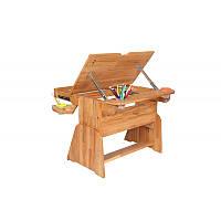 Парта-растишка с ящиком  с-490-1 (без стула)
