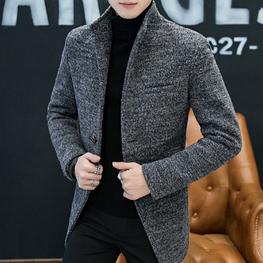 Мужское демисезонное пальто. Модель 61549