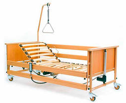Кровать медицинская 4х-секционная с электроприводом Burmeier Economic II