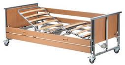 Кровать медицинская 4х-секционная с электроприводом Medley Ergo (деревянные ламели)