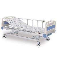 Кровать медицинская 3-х функциональная с механическим регулированием и с поручнями  Better BT-603M