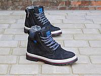 Зимние подростковые ботинки CAT Черные 10318