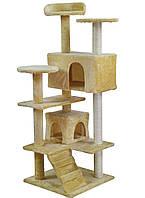 Когтеточка домик для кота 133 см PETHAUS 201 (3 цвета), фото 1