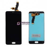 Дисплей Meizu M5s с сенсором (тачскрином) черный