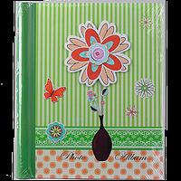 Магнитный фотоальбом для девочки Цветок на 20 листов