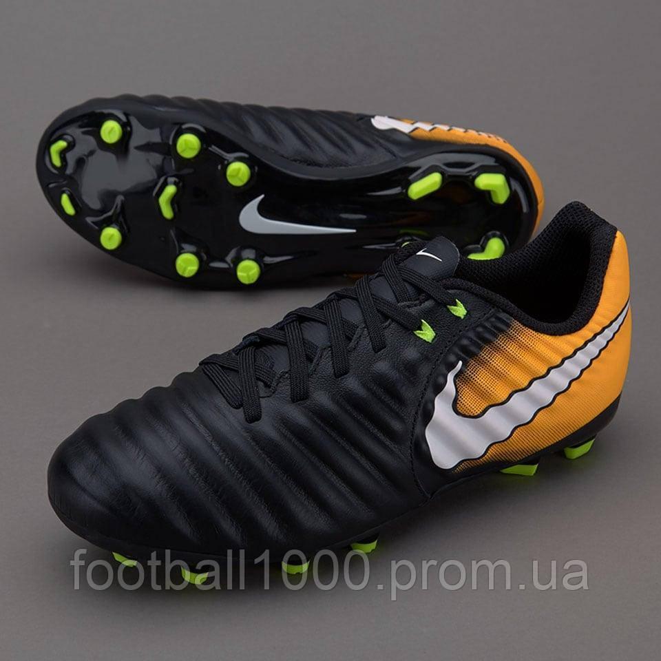 73decec6 ... Детские футбольные бутсы Nike Tiempo Ligera IV FG 897725-008, ...