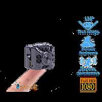 Мини камера SQ10 с ночной подсветкой и датчиком движения, фото 1
