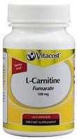 Vitacost L-carnitine Fumarate 500mg (60 капс.)