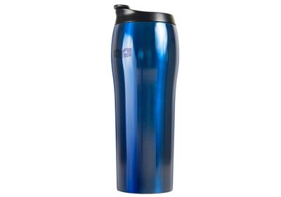 Не падающая чашка-термос Mighty Mug GO SS Синяя (530 мл)