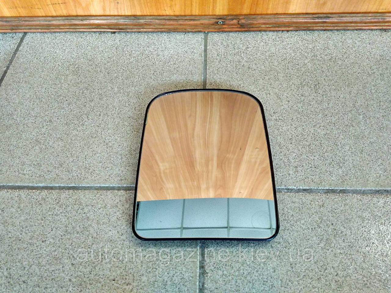 Зеркальный элемент большой верхний бокового зеркала Газель