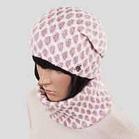 Комплект шапка шарф Atrics WK-593