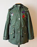 Куртка парка детская и подростковая для девочек, фото 1