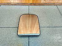 Зеркальный элемент большой верхний бокового зеркала (с подогревом) Газель