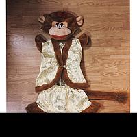 Детский карнавальный костюм Мартышка парча