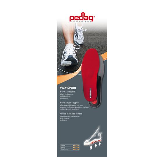 Каркасная ортопедическая стелька  Pedag Viva Sport -181