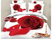 Комплект постельного белья евро Love You