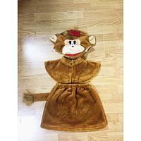 Детский карнавальный костюм Мартышка мех