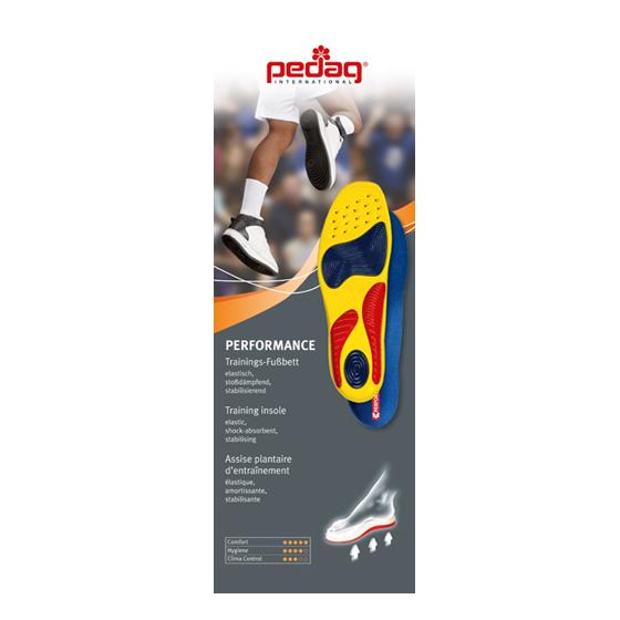 Стелька-супинатор в спортивную обувь Pedag Performance -199