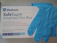Перчатки нитриловые размер без пудры М 100шт