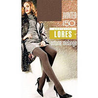 Колготки Lores Winter 150 den Cotton Черный 2