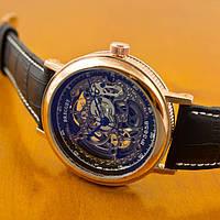 Брендовые новомодные мужские механические часы BREGUET. Хорошее качество. Доступная цена. Код: КГ1979
