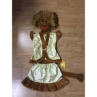 Детский карнавальный костюм Обезьяна мех парча