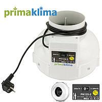 Prima Klima PK125-2 (2-скорости).Канальный вентилятор 220-400 m³/ч